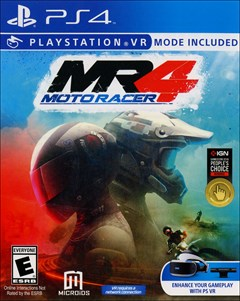 Moto Racer 4 PlayStation 4 Box Art