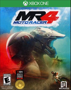 Moto Racer 4 Xbox One Box Art