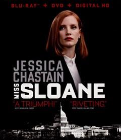 Miss Sloane Blu-ray Box Art