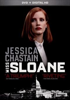 Miss Sloane DVD Box Art