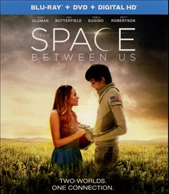 The Space Between Us Blu-ray Box Art