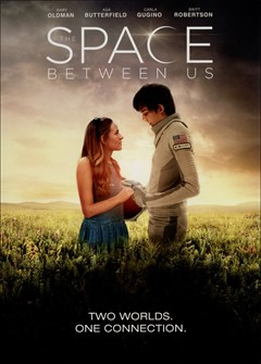 The Space Between Us DVD Box Art