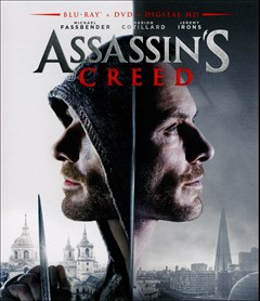 Assassin's Creed: The Movie Blu-ray Box Art