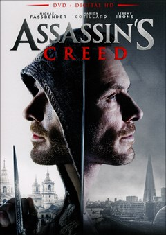 Assassin's Creed: The Movie DVD Box Art