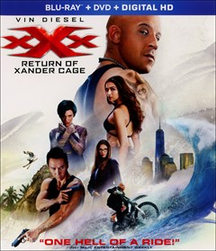 xXx: Return of Xander Cage Blu-ray Box Art