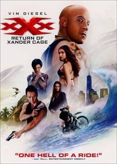 xXx: Return of Xander Cage DVD Box Art