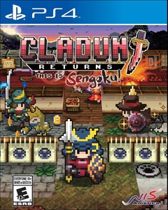 Cladun Returns: This Is Sengoku! PlayStation 4 Box Art