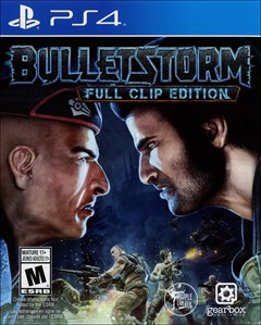 Bulletstorm: Full Clip Edition PlayStation 4 Box Art