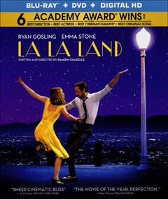 La La Land Blu-ray Box Art
