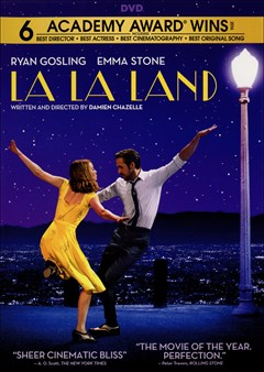 La La Land DVD Box Art