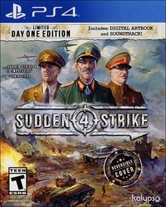 Sudden Strike 4 PlayStation 4 Box Art
