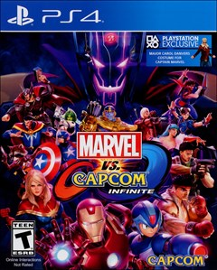 Marvel vs Capcom: Infinite PlayStation 4 Box Art
