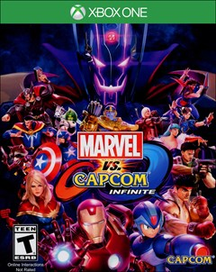 Marvel vs Capcom: Infinite Xbox One Box Art