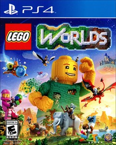 LEGO Worlds PlayStation 4 Box Art
