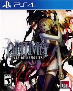 Anima: Gate of Memories PlayStation 4 Box Art