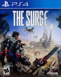 The Surge PlayStation 4 Box Art