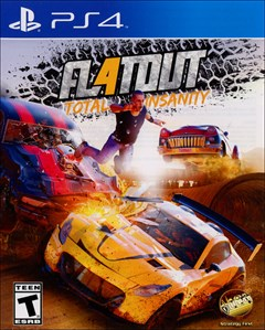 FlatOut 4: Total Insanity PlayStation 4 Box Art