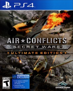 Air Conflicts: Secret Wars - Ultimate Edition PlayStation 4 Box Art