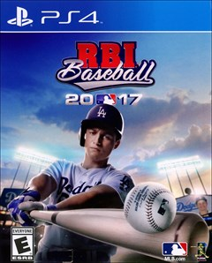 RBI Baseball 2017 PlayStation 4 Box Art