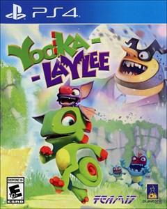 Yooka-Laylee PlayStation 4 Box Art