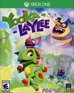 Yooka-Laylee Xbox One Box Art
