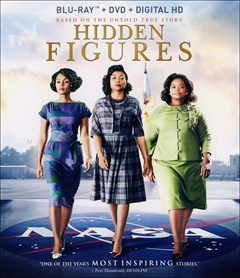 Hidden Figures Blu-ray Box Art