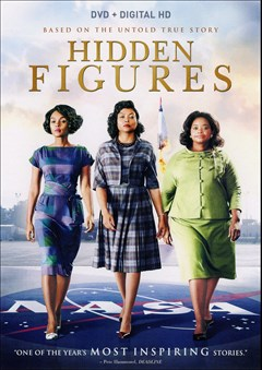 Hidden Figures DVD Box Art