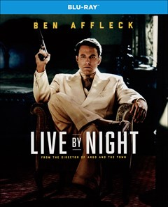 Live By Night Blu-ray Box Art