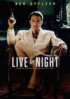 Live By Night DVD Box Art