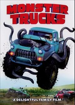 Monster Trucks (2016) DVD Box Art