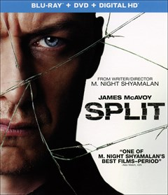 Split Blu-ray Box Art
