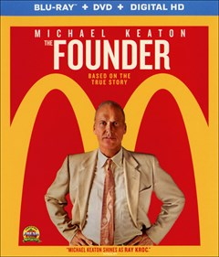 The Founder Blu-ray Box Art