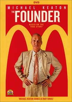 The Founder DVD Box Art