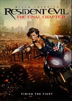 Resident Evil: The Final Chapter DVD Box Art