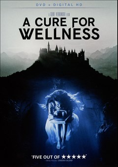 A Cure for Wellness DVD Box Art
