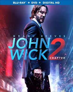 John Wick: Chapter 2 Blu-ray Box Art