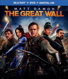 The Great Wall Blu-ray Box Art