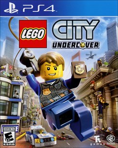 LEGO City Undercover PlayStation 4 Box Art