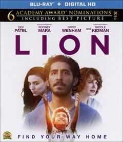Lion (2016) Blu-ray Box Art