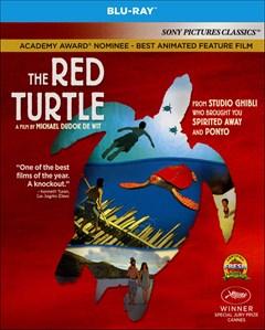 The Red Turtle Blu-ray Box Art