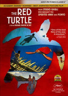 The Red Turtle DVD Box Art