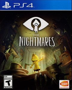 Little Nightmares PlayStation 4 Box Art