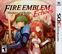 Fire Emblem Echoes: Shadows of Valentia Nintendo 3DS Box Art
