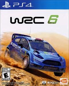 WRC 6 PlayStation 4 Box Art