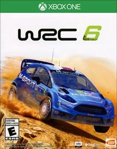 WRC 6 Xbox One Box Art