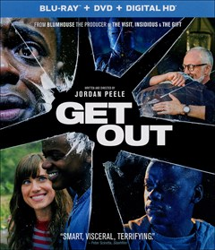 Get Out Blu-ray Box Art