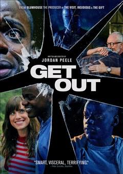 Get Out DVD Box Art