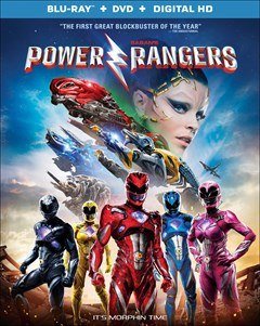 Power Rangers Blu-ray Box Art