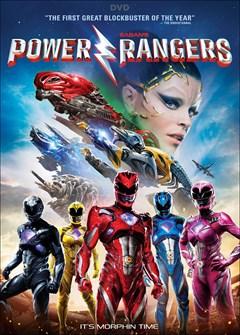 Power Rangers DVD Box Art