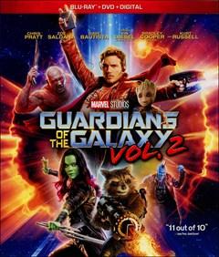 Guardians of the Galaxy: Vol. 2 Blu-ray Box Art